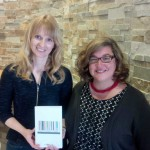 2015 CAWLS Book Prize Winner Kendra Coulter with CAWLS President Stephanie Ross