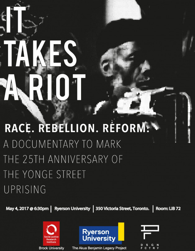 New Documentary | It Takes A Riot: Race, Rebellion, Reform