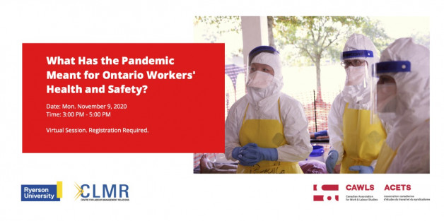 What the Pandemic Means for Ontario Workers' Health and Safety